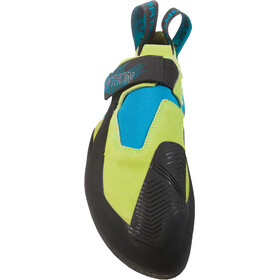 La Sportiva Python Kiipeilykengät Miehet, apple green/tropic blue